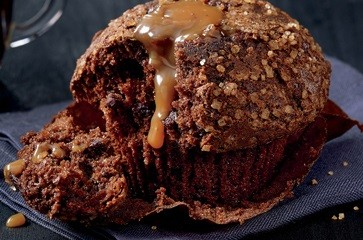Chocolate Caramel Muffin,