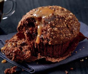 Chocolate Caramel Muffin,