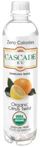 Cascade Ice water