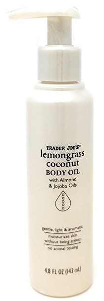 Lemongrass Coconut Body Oil